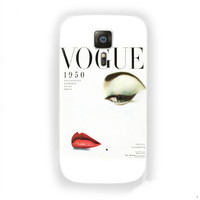 Vogue 1950 mgazine vintage Style For Samsung Galaxy S6 Case