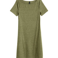 H&M Ribbed Jersey Dress $17.99