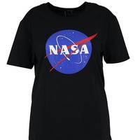 Plus Tammy Nasa License Tee | Boohoo