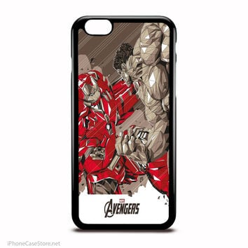 Huklbuster Vs Hulk Marvel Comics Characters Case For Iphone Case