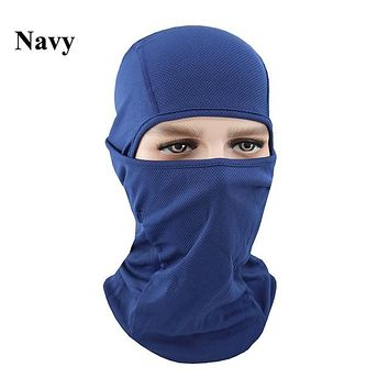 NAVY Winter Outdoor Ski Bibs Snowboard Skiing Full Face Mask Cycling Sport Headgear Tactical Paintball Cap Hat Snowbile Balaclava