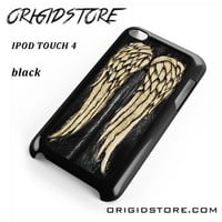 The Walking Dead Daryl Dixon Wing For Ipod 4 Case Please Make Sure Your Device With Message Case UY