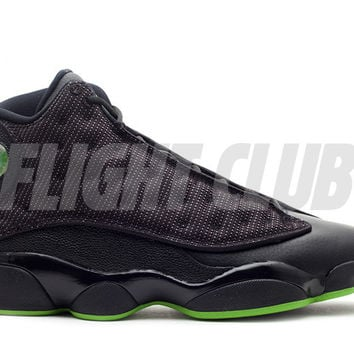 "air jordan 13 retro ""altitude 2010 release"" - black/altitude green - Air Jordan 13 - Air Jordans 