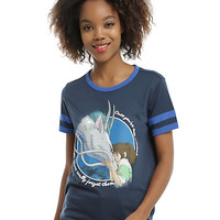 Studio Ghibli Her Universe Spirited Away Never Forget Girls Ringer T-Shirt