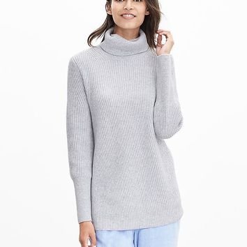 Banana Republic Womens Todd & Duncan Cashmere Long Turtleneck