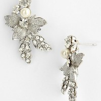 Women's Nina 'Addie' Faux Pearl Drop Earrings