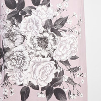 Plum & Bow Graphic Corsage Shower Curtain