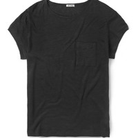 Acne - Granville Linen Crew Neck T-Shirt | MR PORTER
