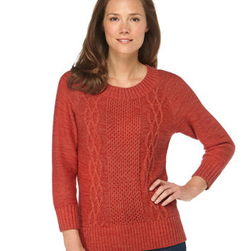 Bailey Island Pullover Sweater: Crewnecks | Free Shipping at L.L.Bean