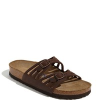 Women's Birkenstock 'Granada' Soft Footbed Oiled Leather Sandal