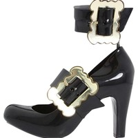 Vivienne Westwood Anglomania For Melissa Black Pumps 87% off retail