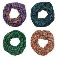 Secret Garden Knit Infinity Scarf