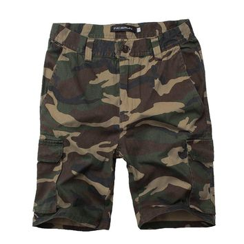 2018 New Cargo Shorts Men Casual Jogger Camouflage Brand Clothing Cotton Male Fashion Army Camo Work Shorts Men Plus Size 30-44