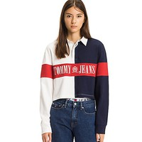 TOMMY JEANS CROPPED RUGBY | Tommy Hilfiger