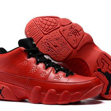 Nike Air Jordan 9 Retro Low Red AJ9 Cheap Sale JD 9 Discount Men Sports Basketball Sho