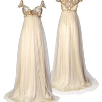 Emma - Claire Pettibone - Couture Bridal l Wedding Dresses, Gowns, Fashion Designer, Veils, Accessories