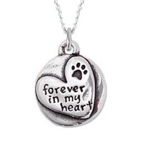 Sterling Silver Necklace - Forever in my Heart