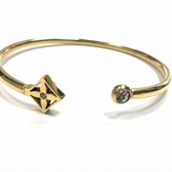 KC Luxurys Louis Vuitton Inspired Idylle Blossom Bracelet Cuff Gold Bracelets Gold Bangle Bracelet
