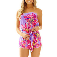 Ritz Strapless Romper - Lilly Pulitzer