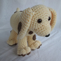 Spots the Cute Puppy Crochet Pattern