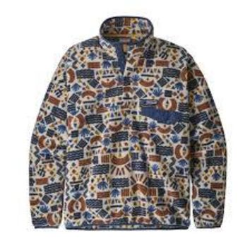 Patagonia M LW Synch Snap T