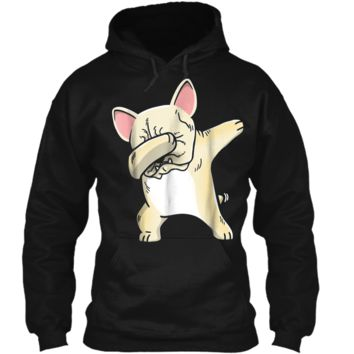 Frenchie Dabbing  French Bulldog Kids Clothes Pullover Hoodie 8 oz