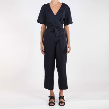 SOPHIE PLAYSUIT NAVY