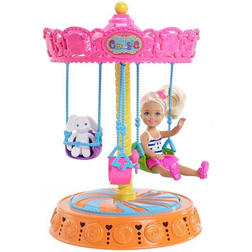 Barbie - Chelsea Doll and Carousel Swing