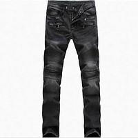 Fold Slim Fit straight jeans