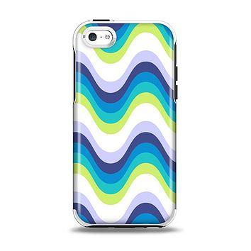 The Fun Colored Vector Sharp Swirly Pattern Apple iPhone 5c Otterbox Symmetry Case Skin Set