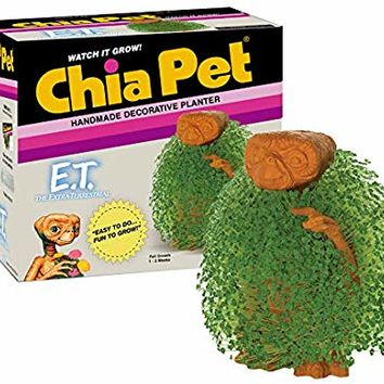 Chia Pet E.T. Decorative Pottery Planter