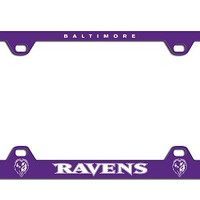 Laser License Plate Frame Baltimore Ravens - 91931