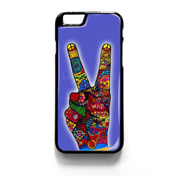 Peace No War Obey iPhone 4 4S 5 5S 5C 6 6 Plus , iPod 4 5  , Samsung Galaxy S3 S4 S5 Note 3 Note 4 , and HTC One X M7 M8 Case