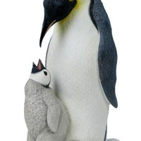 Penguin With Baby Penguin Statue