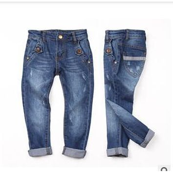 Y 4082208-45 New 2014 Brand Baby Boy Jeans Casual Solids Boy Pants Denim Kids Jeans Regular Kids Pants Casual Children's Clothes