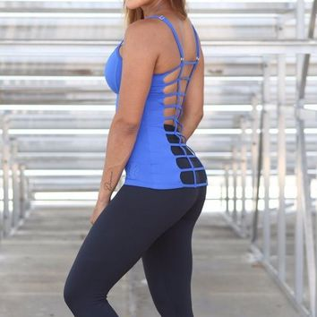 Equilibrium Activewear - Black Cropped Leggings