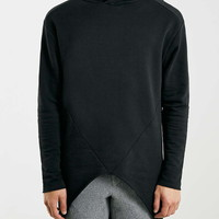 Selected Homme Black Long Line Sweatshirt - New This Week - New In