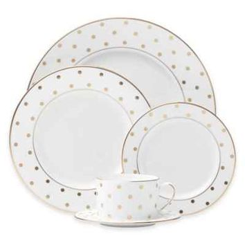 kate spade new york Larabee Road™ Gold Dinnerware Collection