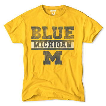 Michigan Blue M T-Shirt