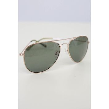 Bright Skies Sunglasses - Gold