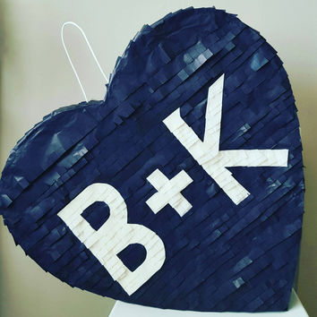 Custom Monogrammed  Wedding pinata