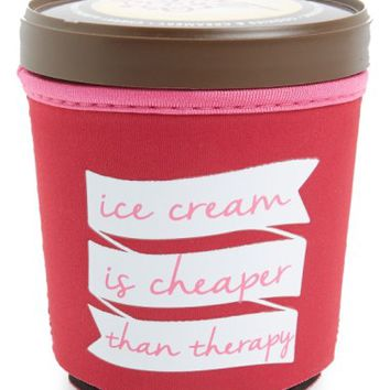 Design Ideas 'Ice Cream Is Cheaper Than Therapy' Ice Cream Pint Huggy | Nordstrom