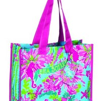 Lilly Pulitzer Trippin and Slippin Market Tote