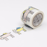 mt x Mina Perhonen Washi Tape Single Pegasus White