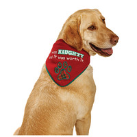 Petco Holiday Naughty or Nice Reversible Dog Bandana
