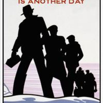 To-Day is another day - Make it Safe: Fine art canvas print (12 x 18)