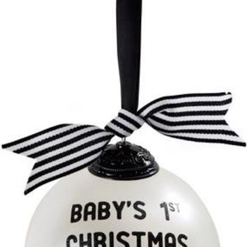 Baby's 1st Christmas Tree Ornament