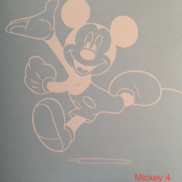 Mickey Mouse Disney car vehicle auto window decal custom sticker