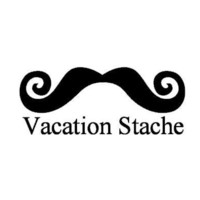 Personalized My Stache Jar - Vacation Stache - Moustache Money Jar - Curly Handlebar Moustache