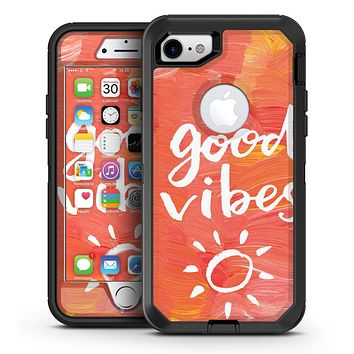 Good Vibes - iPhone 7 or 7 Plus OtterBox Defender Case Skin Decal Kit